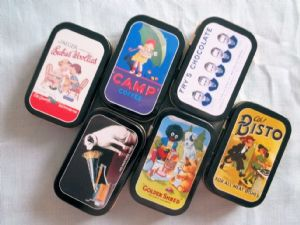 Timeless Tins - Mini Tins Novelty Collectable Gift Idea